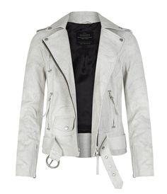 AllSaints Brannon Biker Jacket   Womens Biker Jackets