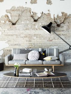 exposed brick wall <3
