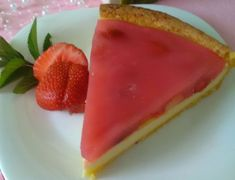 Fantastický pudingovo-jahodový koláč (fotorecept) - recept | Varecha.sk Minis, Watermelon, Cupcake, Treats, Fruit, Sweet, Food, Sweet Like Candy, Meal