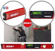 Livella laser digitale RED 60 SOLA