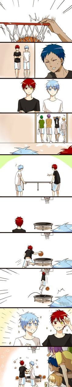 Kuroko no Basket- Just like Kise, I would be filming this with my phone- to blackmail them later~