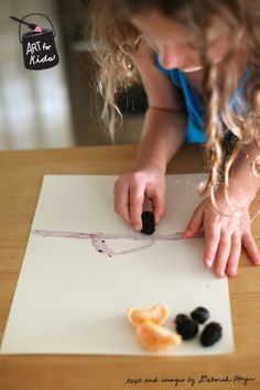 how to make all-natural dyes using fruit by @Deborah - My Life at Playtime