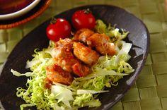 焼き鶏のピリ辛ゴマ酢ダレのレシピ・作り方 - 簡単プロの料理レシピ   E・レシピ