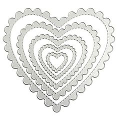 Hunulu Heart Frame Cutting Dies Stencils DIY Scrapbook Album Paper Card Embossing Craft >>> You can get additional details at the image link.Note:It is affiliate link to Amazon.