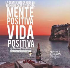 Se la fuente de energía positiva en tu trabajo y en tu vida!  que tengas el mejor viernes!!   Saludos a nuestros amigos de @mentorofthebillion gracias por la imagen