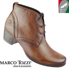 Marco Tozzi női bőr cipő 2-25106-25 340 muscat antik - Női bakancsok 72cf94d1fa