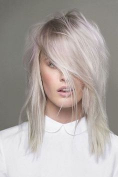 Tendance cheveux blancs