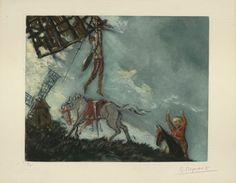 Don Quichotte de la Manche,1951-Paris-np, Illustrator Georges Regnault