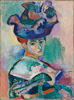 Matisse Woman With A Hat oil painting reproduction on canvas