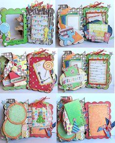 Happy Birthday PARTY Scrapbook Mini Album boy theme by luv2scrappp