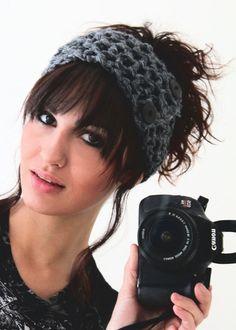 Trendy Head Band Warm Head Wrap Crochet Head por SublimeExpression
