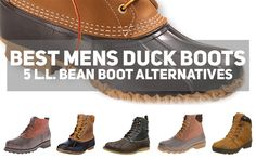 best mens duck boots good ll bean boot alterantives