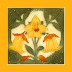 151 Art Nouveau tile by Pilkington (1895). Courtesy of Robert Smith from his…