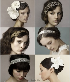 1920's hair and accessories - imagine the contents of Pip's dresser drawers