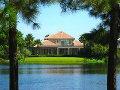 Picture perfect homes in Regatta Bay Destin surrounded by 28 acres of lakes.