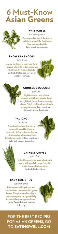 A guide to Asian greens like bok choy and Chinese broccoli plus 20+ recipes for how to use them.