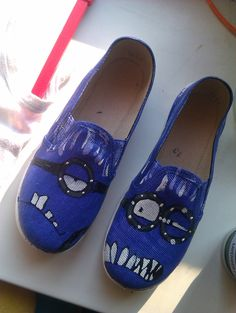 Angry Minions shoes