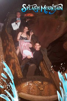 The people who must take a funny picture on every ride that offers it. | 21 Types Of People You See At Disneyland