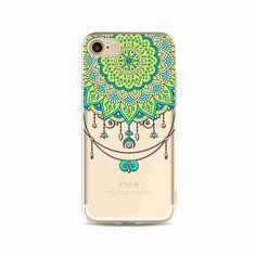Paisley Flower Mandala Boho Chic Case for iPhone 7