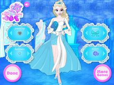 Elsa Fashion Designer - Play Free At: http://flashgamesempire.blogspot.co.uk/2016/05/elsa-fashion-designer.html