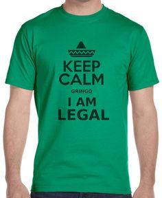 Keep Calm Im Legal T-shir Custom Tee Fit Men NEW FREE SHIPPING #Gildan…