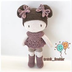 "170 Me gusta, 4 comentarios - Minik İlmekler (@minik_ilmekler) en Instagram: ""#elemeği #göznuru #amigurumi #amigurumilove #crochet #handmade #gift #doll #cute"""
