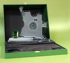 BP Angola | Vidro diamante | Caixa oferta personalizada