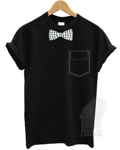 Tuxedo Bow Party Dress Funny Joke Stag Fancy Fashion T Shirt Top Men #Gildan