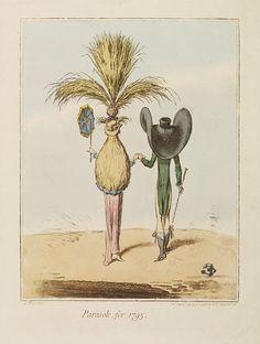 Parasols for 1795, by James Gillray, V