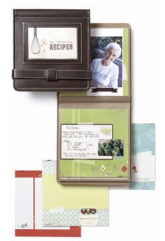 July's Monthly Project from Creative Memories: Family Recipe Album  Get together with your friends to create! Contact a Consultant to learn more: http://www.creativememories.com/Content/Consultant/FindConsultant.aspx