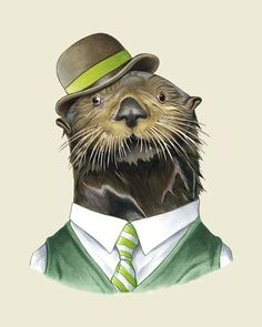 otter be handsome