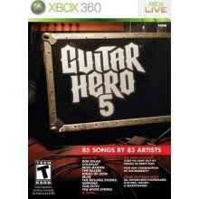 Guitar Hero 5 [Xbox 360 Game]