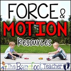 Force and Motion Resource Bundle - The NEW Kindergarten Science standards are here! Are you prepared to teach Force and Motion? This bundle includes nine activities to make teaching this new topic a breeze for you and fun for the kids! Father's Day Activities, Easter Activities For Kids, Ocean Activities, Science For Kids, Preschool Themes, Science Ideas, Christmas Activities, Writing Activities, Kindergarten Readiness