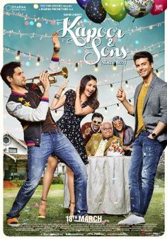 """FULL MOVIE """"Kapoor and Sons 2016""""  direct link 1280p free high definition MKV how download"""