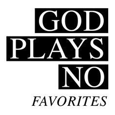 Sommige mensen lijken veeeel dichter bij God te leven. Bijna irritant, alsof dat er voor jezelf niet in zit. Maar...! God plays no favorites! Da's mooi, want dan is zo'n zelfde relatie met God ook voor jou mogelijk :) Altijd gaan voor het BESTE, vooral als het gaat om het allerbelangrijkste! #GHA www.godsheart.nl