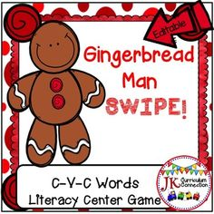 This fast-paced game will have your students practicing short vowel words again and again. There are also EDITABLE cards in color & B/W! They can be customized to fit ANY skill: Additional Sight words, math facts, etc.  Complete directions are included to make this a successful learning experience for your students.Some Common Core Connections include:*RF.K.2d Isolate and pronounce the initial, medial vowel, and final sounds (phonemes) in three-phoneme (CVC) words.*RF.K.2e Add or substitu...