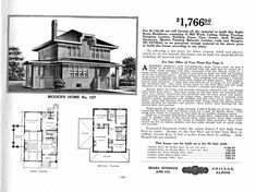 62 Best SEARS, ROEBUCK & CO. KIT HOMES 1908- 1940 images