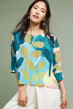 Shop the Arvo Silk Top and more Anthropologie at Anthropologie today. Read customer reviews, discover product details and more.