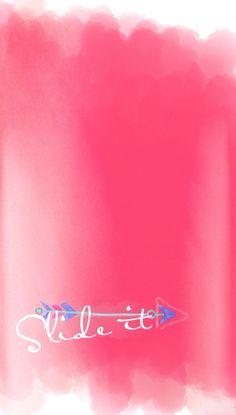Slide to unlock wallpaper for smartphone