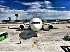 Singapure Airlines Atatürk Havalimanı'nda