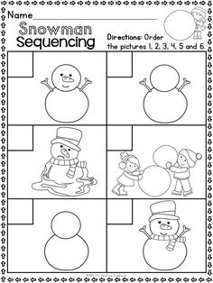 This packet contains Winter themed alphabet practice rhyming syllables reading comprehension pattern Kindergarten Readiness, Preschool Activities, Math Literacy, School Themes, Reading Comprehension, Comprehension Worksheets, Winter Activities, Winter Theme, Core Standards