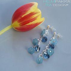 Helmipaikka Oy - Joka päivä on korupäivä - Helmipaikka. Belly Button Rings, Swarovski, Drop Earrings, Jewelry, Jewellery Making, Jewels, Country Belly Rings, Jewlery, Jewerly