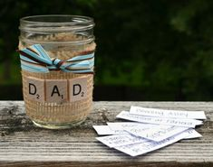 Father's Day Activity Jar | This is a gift that keeps on giving!