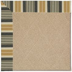 Capel Zoe Machine Tufted Multi-colored Area Rug Rug Size: Round 12' x 12'