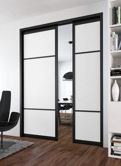 Portes de placard coulissantes kraft 250 x 120 castorama - Sogal porte coulissante ...