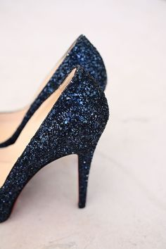 Best trends for Navy sparkly shoes, posted on June 2014 in Shoes Sparkly Shoes, Glitter Heels, Sparkle Heels, Blue Shoes, Blue Sparkles, Blue Glitter, Glitter Glue, Golden Glitter, Glitter Top