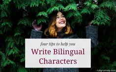 How to Write Bilingual Characters