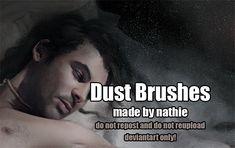 Dust Brushes by nathies-stock.deviantart.com on @deviantART Free Photoshop, Photoshop Brushes, Zbrush Hair, Illustration Techniques, Brush Set, User Profile, Digital Illustration, New Art, Deviantart