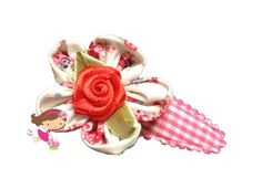 Handmade Hair Clips - www.flowerfairyboutique.nl