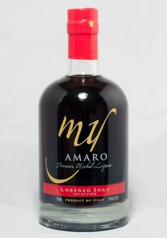 Lorenzo Inga Selection MY Amaro Premium Herbal Liquer